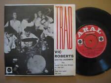 """VIC ROBERTS and His JAZZMEN - TRAD- RARE UK JAZZ 7"""" EP 1962 - ARAL 45 EP-PS 103"""