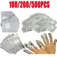 NAIL FOIL REMOVER WRAPS FOR NAIL GEL POLISH UV LED ART SOAK OFF ACRYLIC REMOVAL