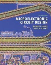 Microelectronic Circuit Design with CD-ROM, Travis N. Blalock, Richard C. Jaeger