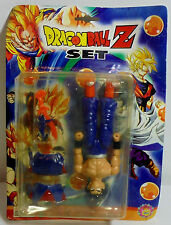DRAGONBALL Z - 5'' VEGETA ACTION FIGURE w/ WEAPONS MOSC SEALED - ERROR CARDED -