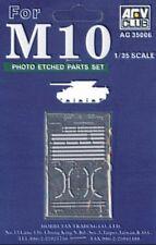 AFV Club AG3506 M10 Tank Destroyer Photo-Etched Parts 1/35 scale model