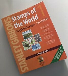Stanley Gibbons Stamps of The World Volume 1 Simplified Catalogues 2014 Edition