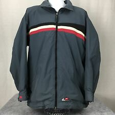 (L) Vintage 90s Quiksilver Coat Jacket Quik Snow Boardwear - EXCELLENT!