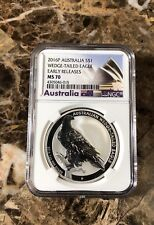 2016 Wedge Tailed Eagle Australia 1 Oz Silver NGC MS70 Early Release