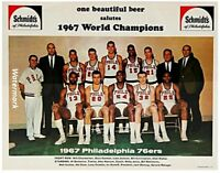 NBA 1967 Philadelphia 76ers World Champions Team Picture 8 X 10 Photo Free Ship