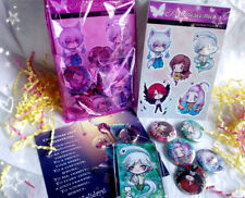 Kamisama Kiss Anime Gift Set - Buttons Keychain Stickers Bundle
