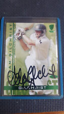 ADAM GILCHRIST 2004 / 05 TEST SERIES  SIGNED CARD