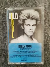 Billy Idol Don't Stop Cassette -Sealed-
