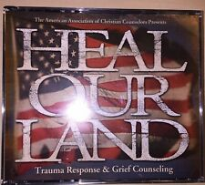 Heal Our Land - Trauma Response & Grief Counseling Vol. I - 5 (20 Cds) 2003 New