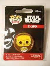 STAR WARS Funko POP! Pins C-3PO Lapel Pin - The Last Jedi, The Force Awakens NEW