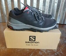 Men's Salomon Outline Black/Quiet Shade High Risk Red, NEW SZ 13