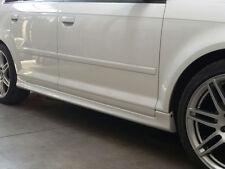 Minigonne Side Skirts in ABS S LINE replica per Audi A3 5 porte 03>13 Sportback