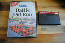 Jeu BATTLE OUT RUN pour Sega MASTER SYSTEM (sans notice)