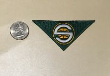 "Seattle Sonics Supersonics NBA Jersey Collar Logo Patch 3.25""x 1.75"" Green"