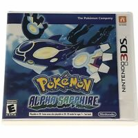 Pokemon: Alpha Sapphire (3DS, 2014) Complete CIB Authentic Tested Works