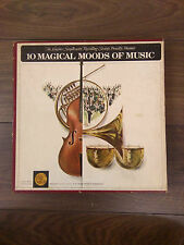 10Magical Moods of Music Longines Symphonette Recording Society Vintage LPbox UK