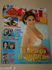 OGGI=2007/35=BARBARA D'URSO=SILVIO MONDINELLI=BIANCA GUACCERO=CAROVIGNO=GARLASCO