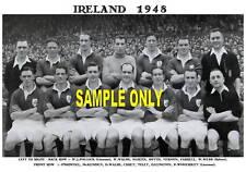 IRELAND FOOTBALL TEAM PRINTS X 12 (1922-1956)