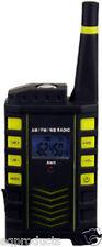 New AM FM NOAA Weather Radio w/ Audible Automatic Alert, Clock & LED Flashlight!