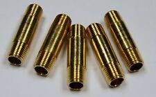 Brass Fittings: Brass Pipe Nipple, Pipe Size 1/4