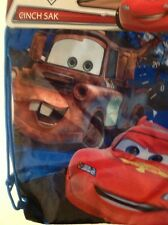 Disney Pixar Cars Drawstring Backpack Sling Bag Red :o)