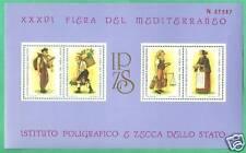 FOGLIETTO IPZS XXXVI FIERA DEL MEDITERRANEO NUMERATO 1981