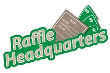 2000 Custom Printed Raffle Tickets Perfed & Numbered - BONUS 100 FREE TICKETS