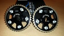 RS Cosworth YB Black Vernier Cam Pulleys (One Pair)