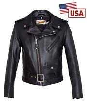 Blouson Schott perfecto us noir original 618 made in USA
