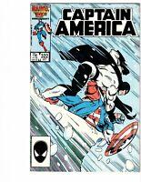 Captain America # 322 (Marvel)1986 -- Flag Smasher vs Cap!! -- VF -- Disney+
