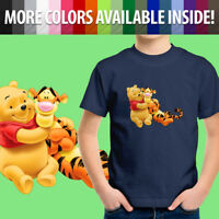 Disney Winnie the Pooh Bear and Tigger Friends Toddler Kids Tee Youth T-Shirt