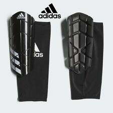 New ADIDAS Ever Pro Football Shin Guards/Pads w/ Sleeve Holder Mens Medium Large