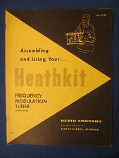 HEATHKIT FM-3A ASSEMBLING OWNER MANUAL ORIGINAL FACTORY ISSUE