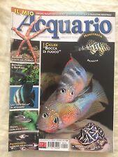 IL MIO ACQUARIO n.122 anno 2008 rivista di pesci rettili piante invertebrati...