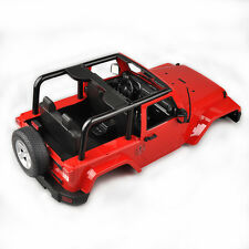 RC Hard Body Shell Canopy Jeep Wrangler For 1/10 SCX10/D90 Rock CRAWLER Truck