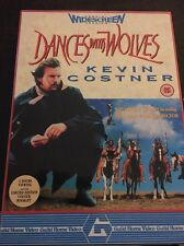 Dances With Wolves (VHS, 1990) Special Widescreen Box-Set, Kevin Costner