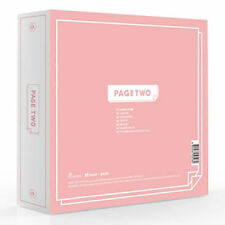 TWICE - [PAGE TWO] 2nd Mini Album Pink ver CD+72p Photo Book+3p Card+Garland+etc