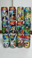 12 lot of Dragon Ball Empty Can from Japan 12 different characters Type A