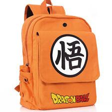Anime Dragon Ball Z Cosplay Backpack Canvas School Book Bag Rucksack Travel Gift