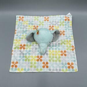 "Boppy Elephant Lovey Security Blanket Plush Finger Puppet Soft Baby Toy 12"""