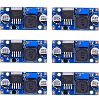 6 Pack LM2596 DC to DC Buck Converter 3.0-40V to 1.5-35V Power Supply Step Down