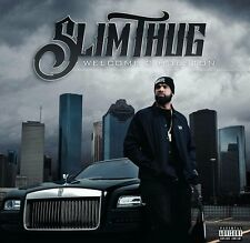 "Slim Thug ""Welcome 2 Houston"" CD Sealed New 2017 EXPLICIT PA"