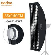 "Godox 14""x 55"" 35x140cm Honeycomb Grid Rectangular Softbox with Bowens Mount"