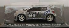 1/43 PEUGEOT 206 WRC TOUR DE CORSE 2000 G. PANIZZI H. PANIZZI IXO ALTAYA ESCALA