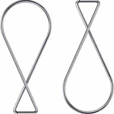 Outus 100 Pack Ceiling Hook Clips T-bar Squeeze Hangers Clips Drop Ceiling Clips