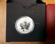 2004 Canada $5 Fine Silver Maple Leaf with D-Day Privy Mark