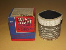 VINTAGE CHIMNEY BURNERS KEROGAS CLEAN FLAME STOVE WICK # 230 NOS NEW IN BOX