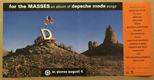 Depeche Mode Promo Poster of 98 Cd The Cure Deftones Rammstein Smashing Pumpkins