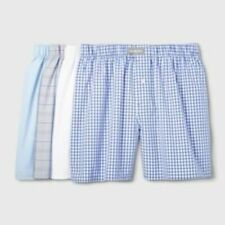 Goodfellow & Co. Mens Classic Woven Boxers Size S L XXL Assorted Colors 4 Pack