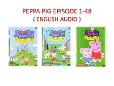 DVD Anime Peppa Pig Episode 1 - 48 End (3 Box Sets) English Version ALL Region